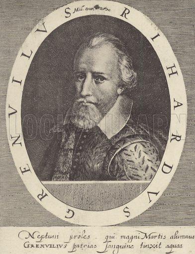 Admiral Sir Richard Grenville.