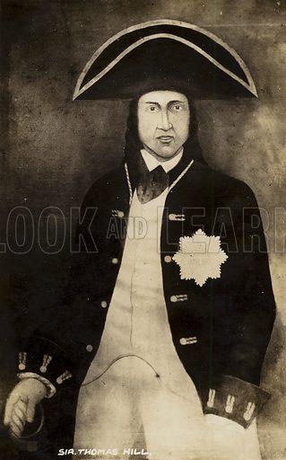 Sir Thomas Hill.