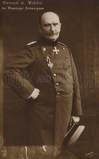 General von Haeseler.