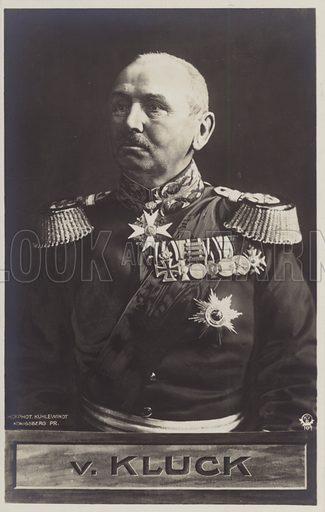 General von Kluck.