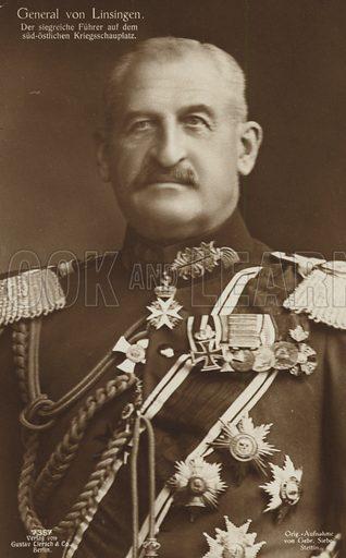 General von Linsingen.