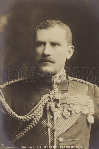 Sir Hector MacDonald.