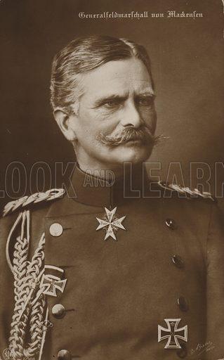 General von Mackensen.