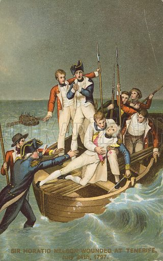 Nelson wounded