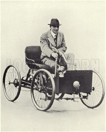 Henry Ford, picture, image, illustration