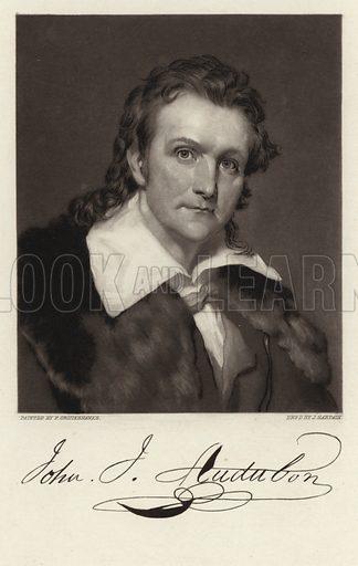 J J Audubon, picture, image, illustration