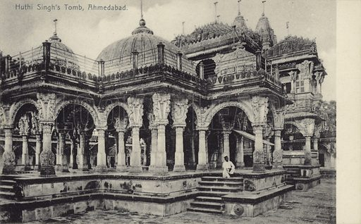 Huthi Singh's Tomb, Ahmedabad.
