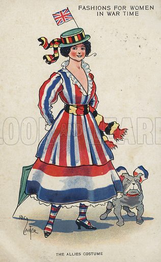 Fashions for women in wartime
