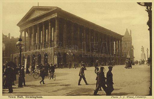 Town Hall, Birmingham.