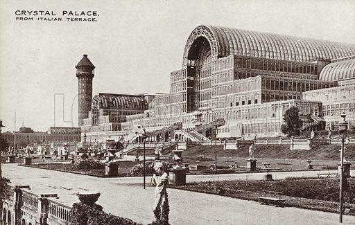 Crystal Palace, from Italian Terrace.