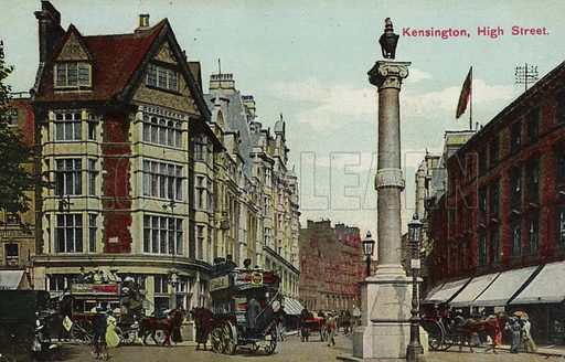 Kensington, High Street.