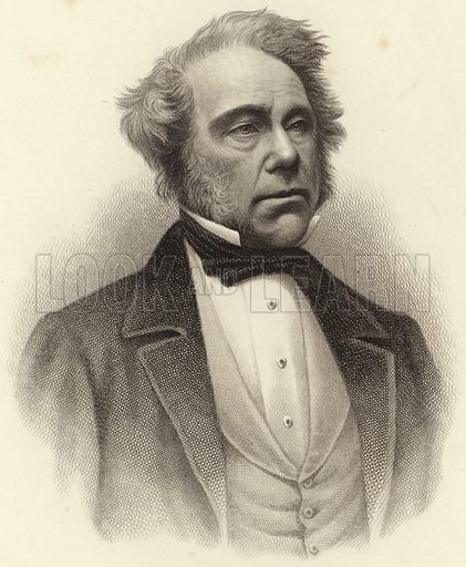 Lord Palmerston (Henry John Temple, 3rd Viscount Palmerston), British statesman who served twice as Prime Minister; from a photograph by Messrs Fradelle & Young.