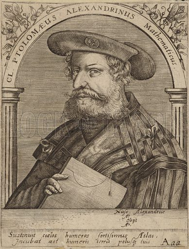 Claudius Ptolemy, mathematician, astronomer, geographer and astrologer.