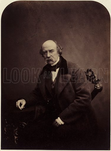 General Sir William Fenwick Williams, 1st Baronet, Nova Scotian military leader remembered for his defence of the town of Kars during the Crimean War. Photo by Maull & Polyblank.