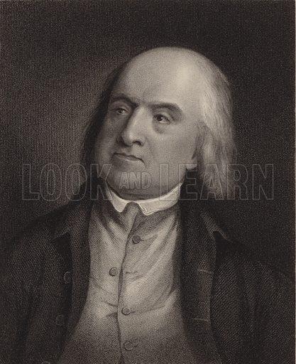 Jeremy Bentham. British philosopher. Published in 1846.