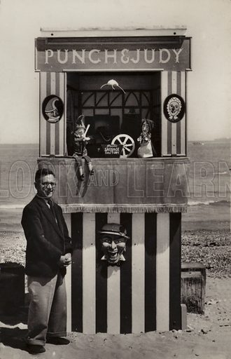 Seaside Punch and Judy show