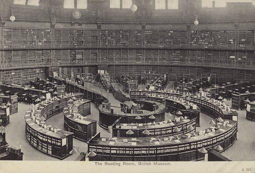 The Reading Room, British Museum, London