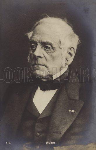 Daniel Auber, French composer (1782–1871). Nineteenth century photograph.