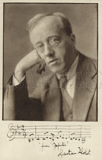 Gustav Holst, picture, image, illustration