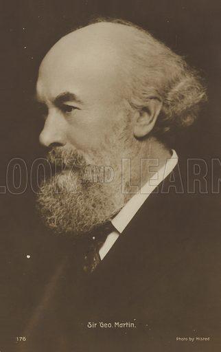 Portrait of Sir George Martin, English composer.