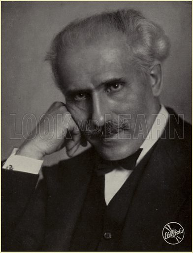 Toscanini, picture, image, illustration