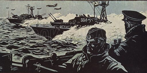 Military Exercise, 1960.