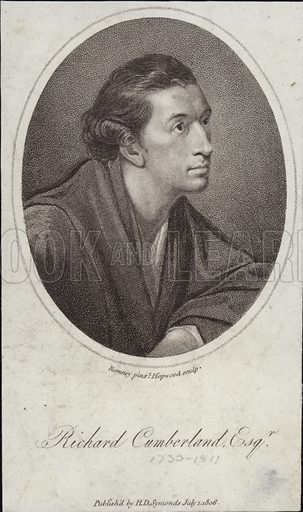 Richard Cumberland (1732-1811). English dramatist and civil servant.