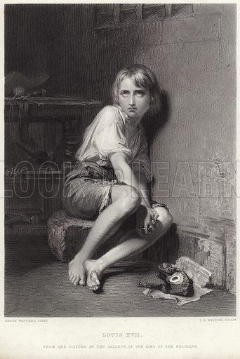 Louis XVII, picture, image, illustration