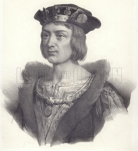 King Louis XII of France stock image   Look and Learn