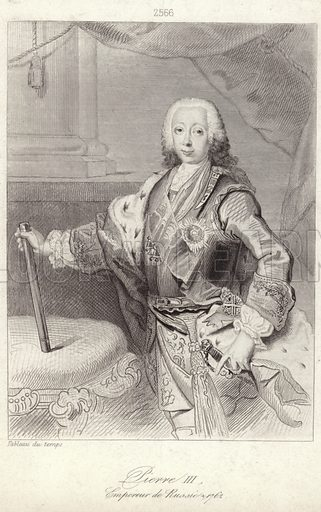 Peter III of Russia,  picture, image, illustration