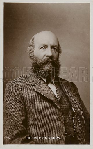 George Cadbury (1839–1922), English chocolate manufacturer and campaigner on social issues.