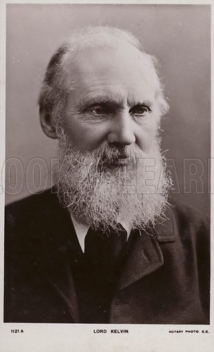 William Thomson, 1st Baron Kelvin (1824–1907), British physicist and engineer.