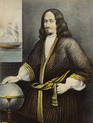 Sir George Somers (1554–1610), English admiral. Founder, in 1609, of the English colony of Bermuda.