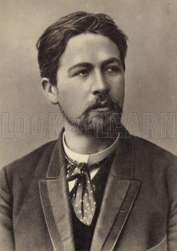Anton Chekhov (1860–1904), Russian playwright and short story writer, 1893.
