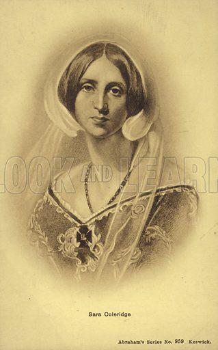 Sara Coleridge (1802-1852), English author and translator. The daughter of Samuel Taylor Coleridge.