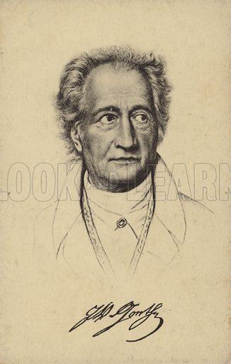 Johann Wolfgang Von Goethe 1749 1832 German Poet