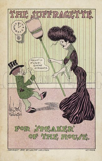 The Suffragette for Speaker of the House
