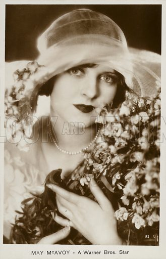 May McAvoy (1899–1984), American film actress.