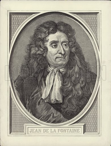 Jean de la Fontaine (1621–1695). French poet and fabulist.