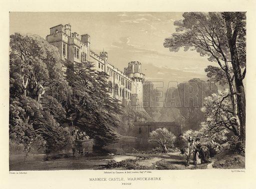 Warwick Castle, Warwickshire, England.