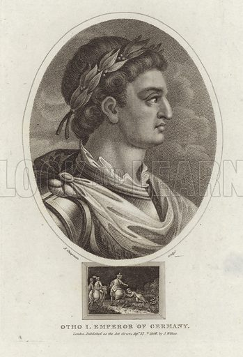 Otho I, Emperor of Germany (912–973). Known as Otto the Great, the founder of the Holy Roman Empire.