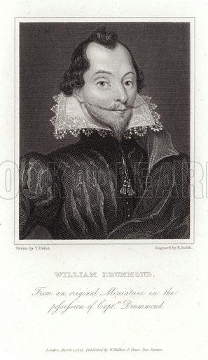 William Drummond of Hawthornden (1585–1649). English poet.