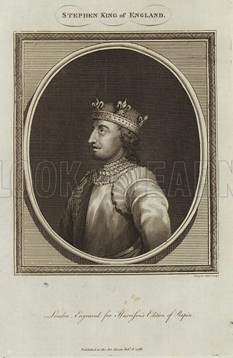 Stephen King of England (1092/6–1154). Stephen of Blois, was a grandson of William the Conqueror. He was King of England from 1135 to his death.