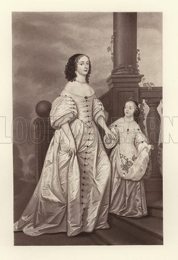 The electress Sophia and her daughter Sophia Charlotte Queen of Prussia.