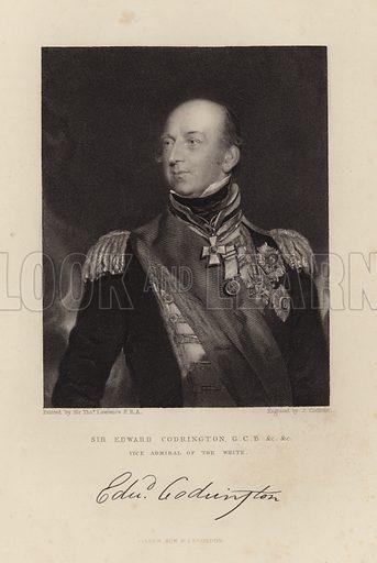 Sir Edward Codrington. Vice Admiral of the White.