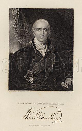 Marquis Wellesley. Richard Wellesley. Published in 1846.