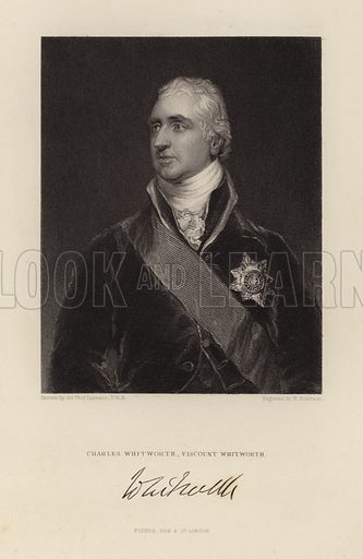 Viscount Whitworth. Charles Whitworth.