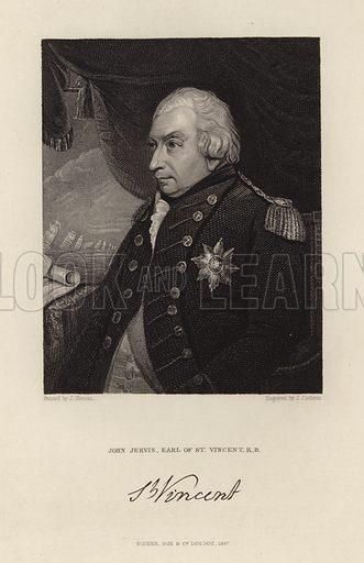 John Jervis. Earl of St Vincent. Published in 1847.