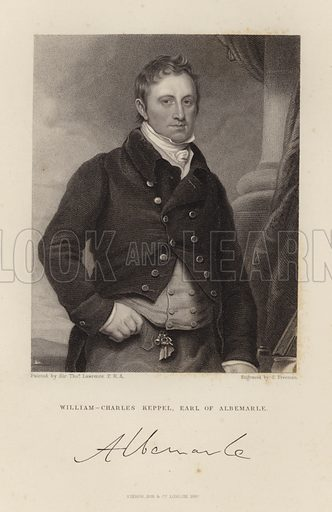 Earl of Albermarle. William Charles Keppel. Published in 1847.