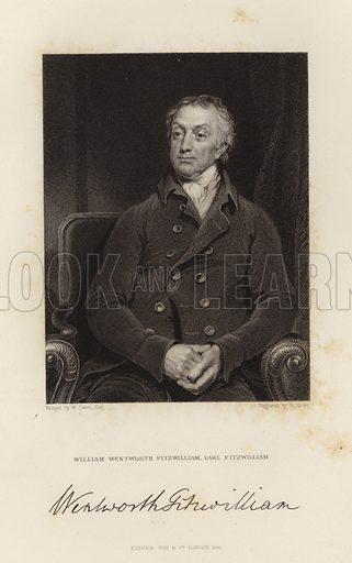 Earl Fitzwilliam. William Wentworth Fitzwilliam. Published in 1846.